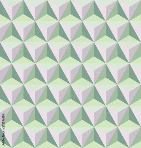 Seamless abstract geometric pattern Wallpaper Mural