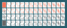 Playing Cards Full Set Isolate...
