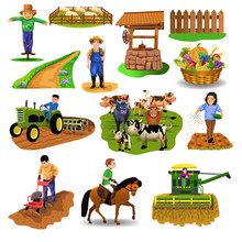 Vector Countryside Set Of Clip...