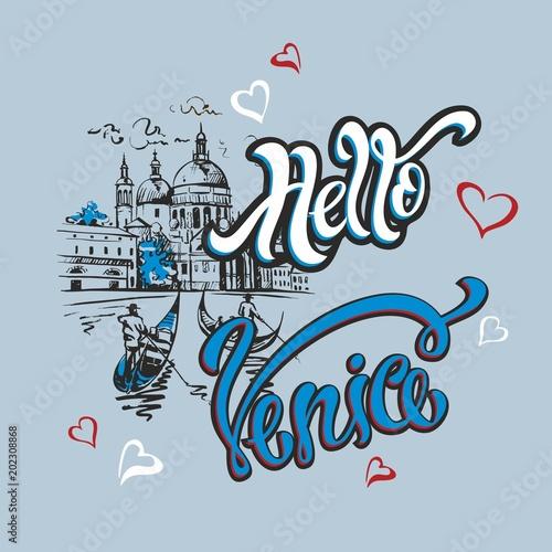 Fotografia Hello Venice