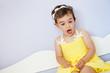 Little girl posing for the photographer