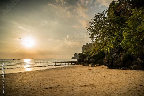 Papiers peints Lieu connus d Asie Railay Beach, Thailand