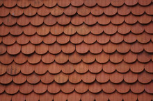 Clay Tile Roof Texture.Red Bac...