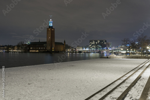 View of Stockholm City Hall, Stockholm, Sweden