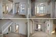 Haussanierung, Baustelle. Renovierung