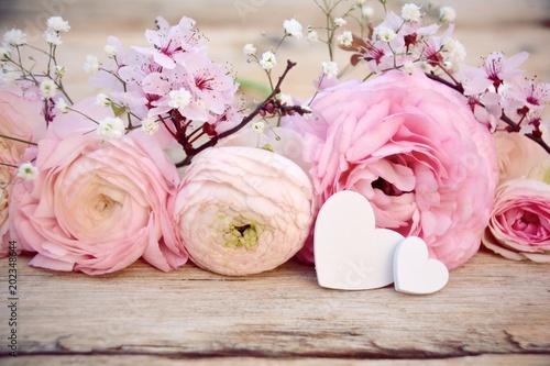 Blumen Zum Muttertag Geburtstag Hochzeit Ranunkeln Rosa Buy