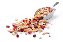 Muesli, A Mixture Of Cereals, ...