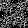 Rose texture floral background ornament.