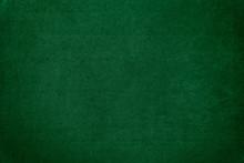 Dark Green Velvet Texture Back...