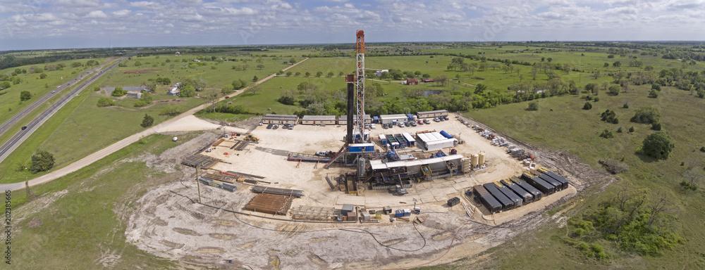 Obraz Central Texas Drilling Rig fototapeta, plakat