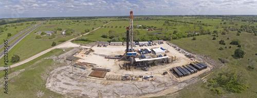 Fototapeta Central Texas Drilling Rig obraz