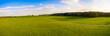 Aerial Panorama: Bavarian landscape in spring