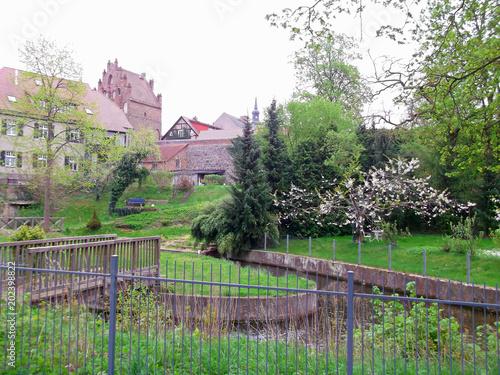 Foto  Historischen Altstadt mit Mühlentor
