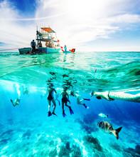 Caribbean Sea Fun Boat Excursion