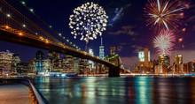 Fireworks Over Manhattan, New ...