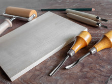 Woodcut Art Tools