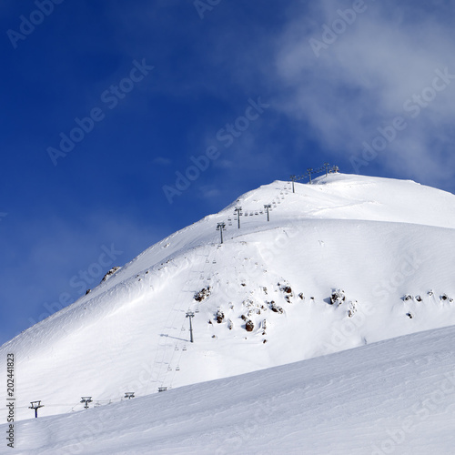 Ropeway at ski resort #202441823