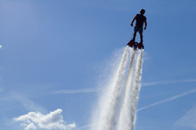 Flyboarding Session In The Aqu...