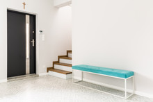 White Entrance Interior With B...