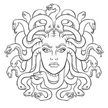 Medusa Greek Myth Creature Col...