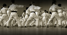 Children's Training On Karate-...
