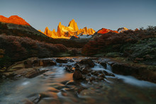 View Of Mount Fitz Roy And The...