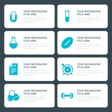 Flat Health, Science, Sports, Kids And Toys Infographic Timeline Template For Presentations, Advertising, Annual Reports