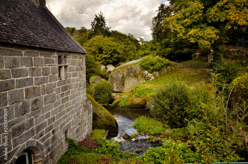 Watermill of Huelgoat, Brittany