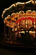 Old Fashioned Carousel In The ...
