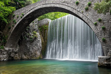 Traditional Stone Bridge And W...