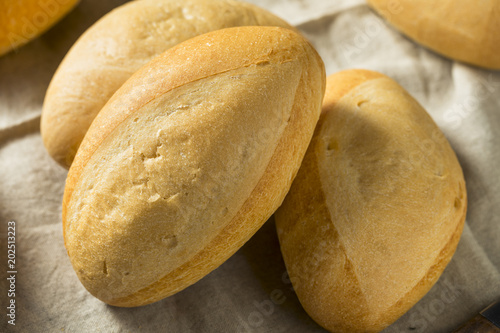 Homemade Mexican Bolillo Rolls