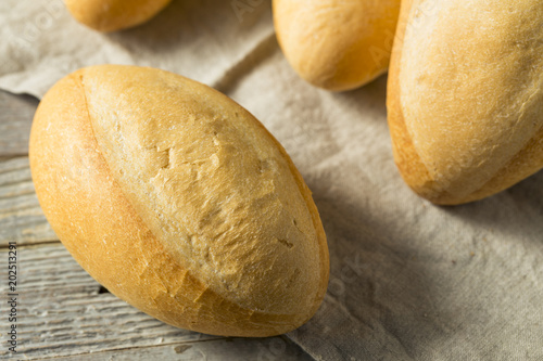 Homemade Mexican Bolillo Rolls Canvas-taulu