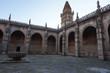 Patio central de la catedral. estilo medieval