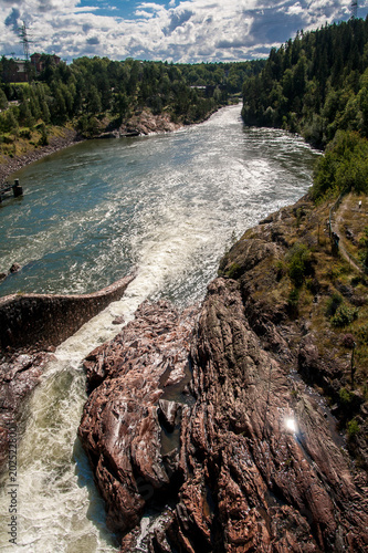 Foto  Trollhättan Wasserfall