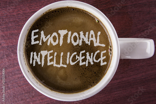 Fotografie, Obraz  Writing note showing  Emotional Intelligence