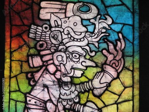 Fotografie, Obraz  Batik de brujo maya
