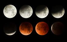 Blood Moon Eclipse Series