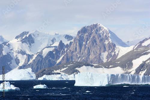 Tuinposter Antarctica Tafeleisberg-Antarktis