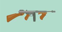 Thompson Tommy Submachine Gun ...