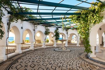 Rotunda in Kalithea (Rhodes, Greece)