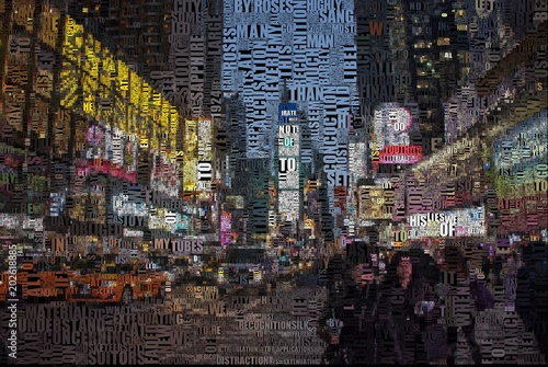 Photo  Time square
