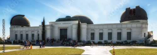 Fotografia Griffith Observatory Monument of Astronomers in Los Angeles California