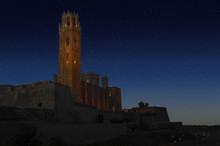 La Seu Vella Cathedral Of Lleida, Spain
