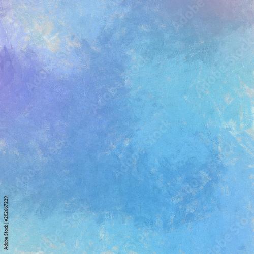 Foto auf AluDibond Himmelblau Abstract texture background. Art wallpaper. Colorful digital painting design. Stock. Big size watercolor pictorial art.