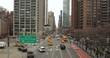 New York City aerial dolly manhattan buildings