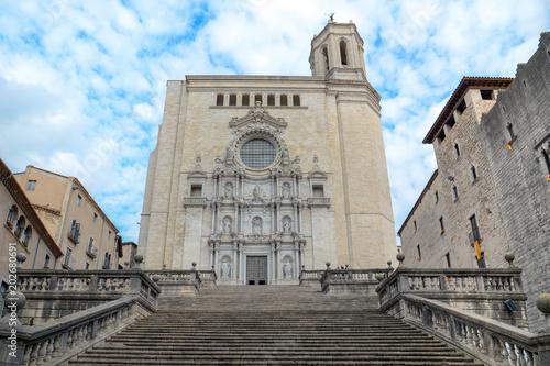 Obraz na plátně  Girona, Catalonia, Spain