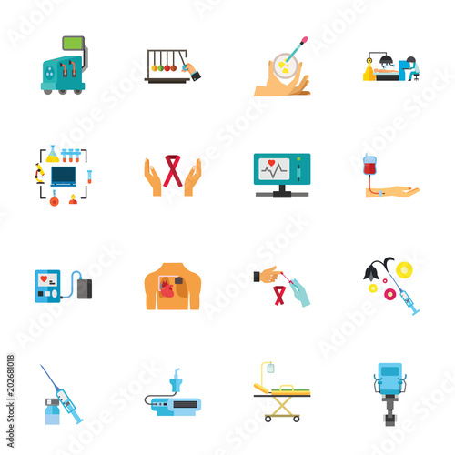Fotografía  Medical screening collection
