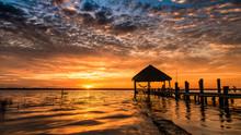Beautiful Sunrise At Bacalar M...