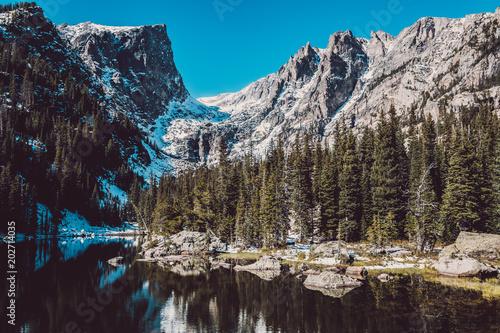 Widok na Góry Skaliste w Kolorado