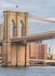 Brooklyn bridge closeup